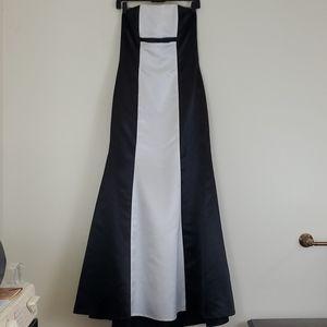 Jessica McClintock For Gunne Sax Strapless Dress 7
